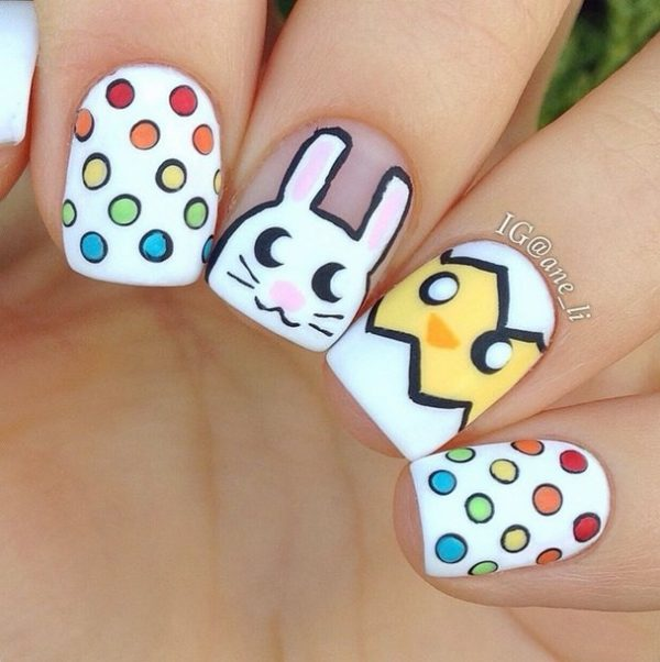 super cute easter nails bmodish