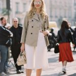 how to wear white cullote pants