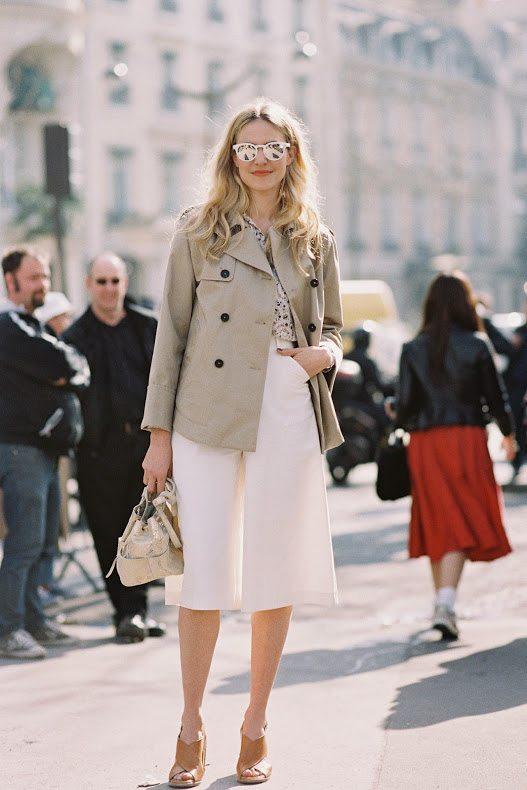 white cullote pants style bmodish