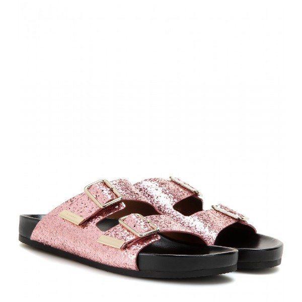 Givenchy glitter sandals bmodish
