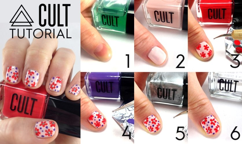 april flower nail art tutorial bmodish