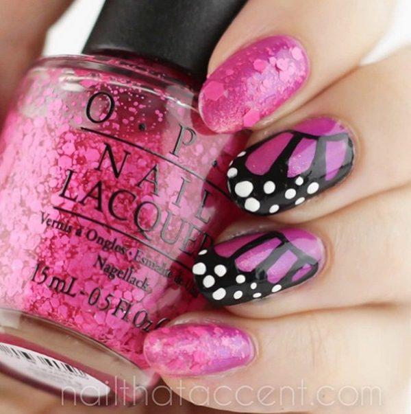 butterfly nails bmodish