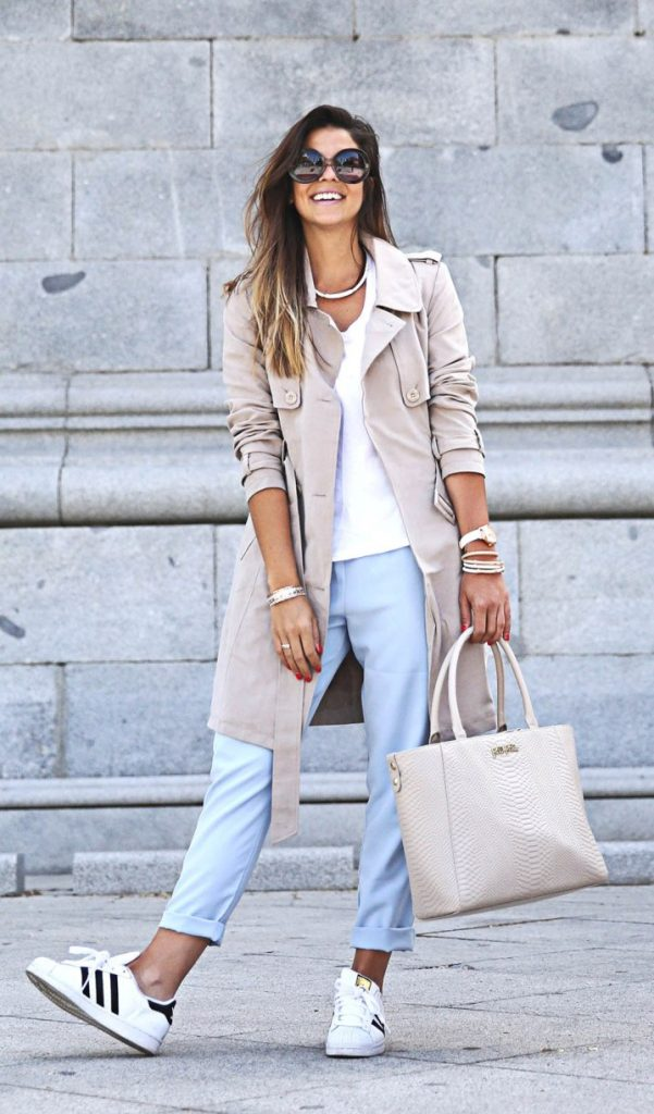 casual spring summer trench bmodish