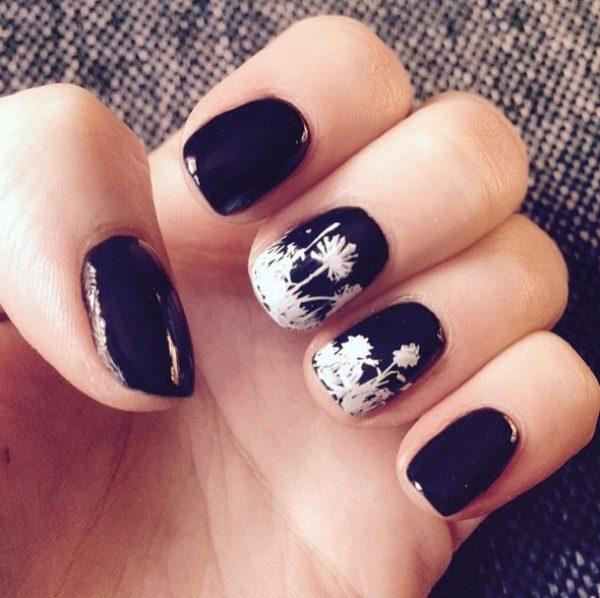 floral nail design bmodish