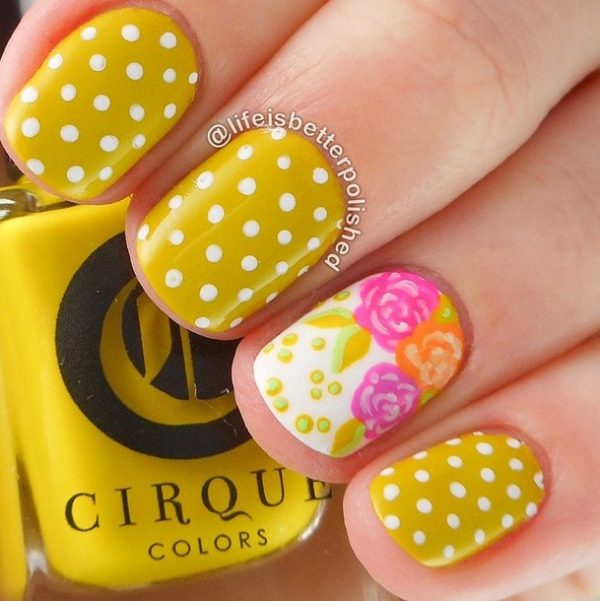 happy may spring nail art bmodish