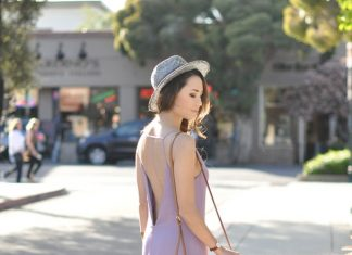 lavender maxi dress summer outfit