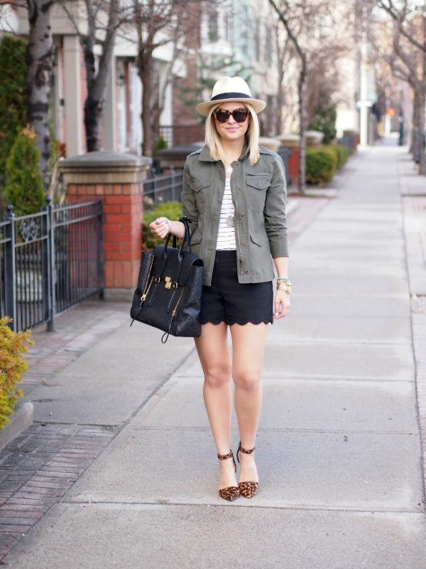 how to wear cargo jacket for spring