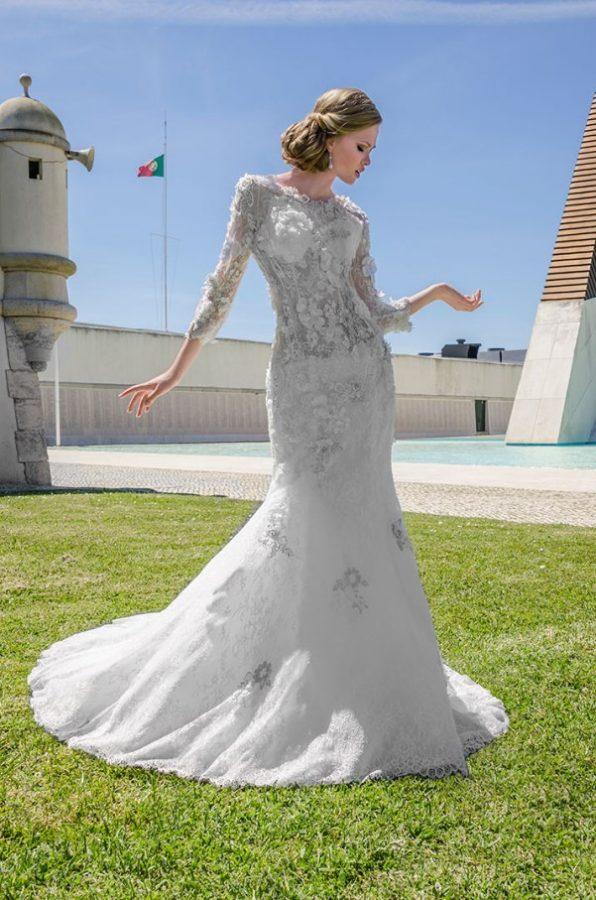 maria karin wedding dress 38 bmodish