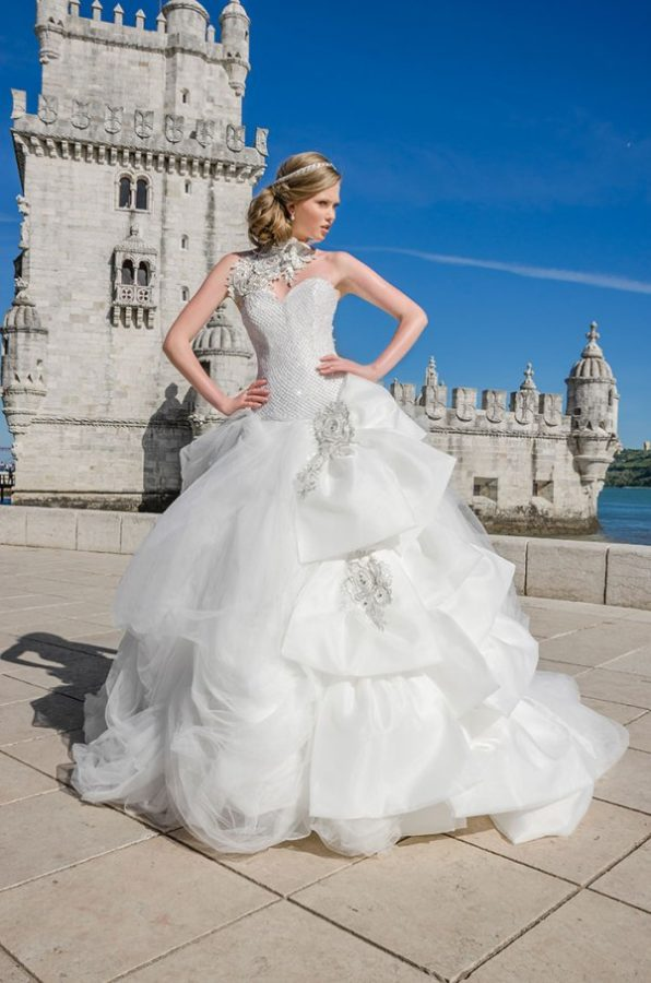maria karin wedding dress 42 bmodish