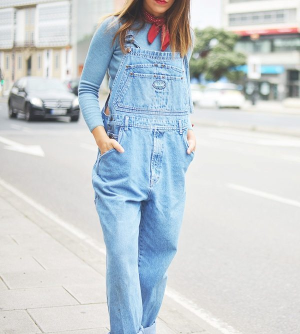 boyfriend overall casual outfit