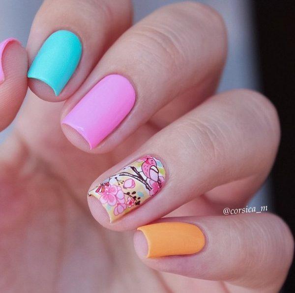 pastel spring nails bmodish