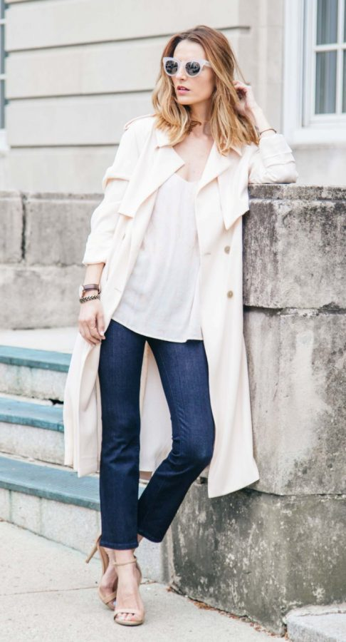spring essential trench coat bmodish