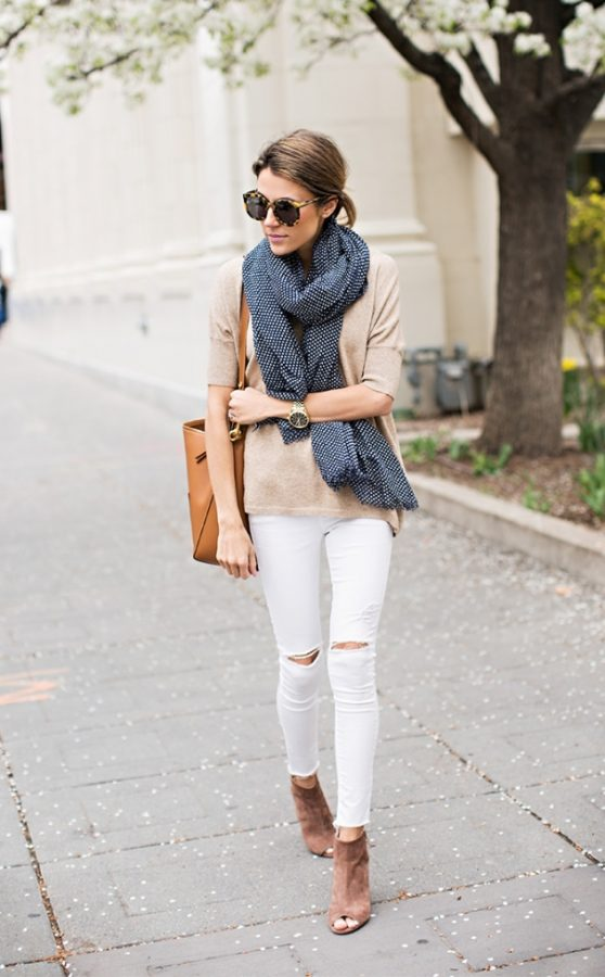 spring outfit simple and casual bmodish