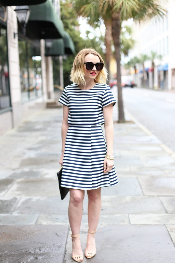 stripe dress for spring summer bmodish
