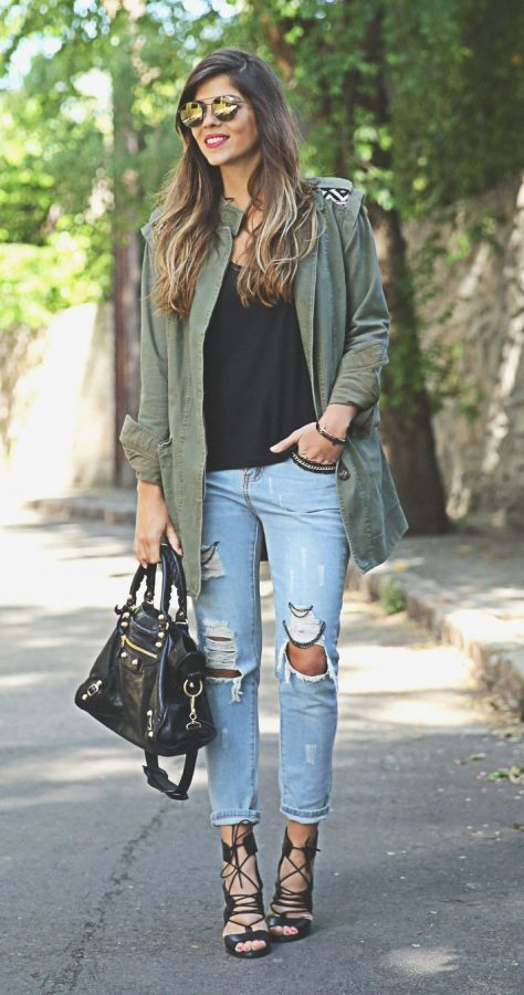 trendy parka look for this spring bmodish