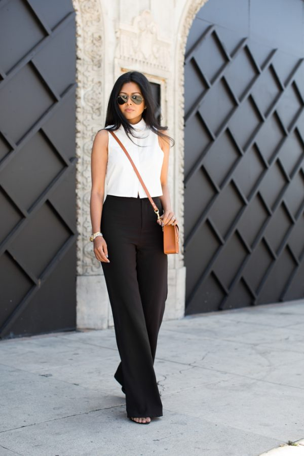 stylish Black and White Outfit bmodish