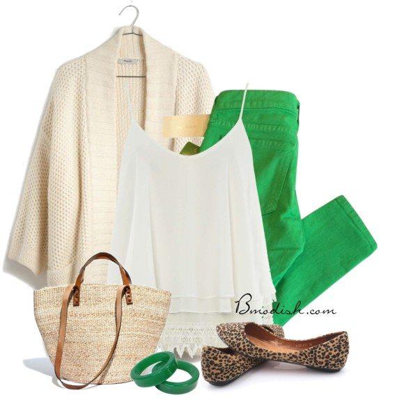 Oversize kimono capri pants casual spring outfit bmodish