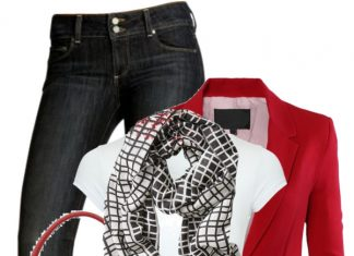 printed flats casual spring polyvore outfit ideas