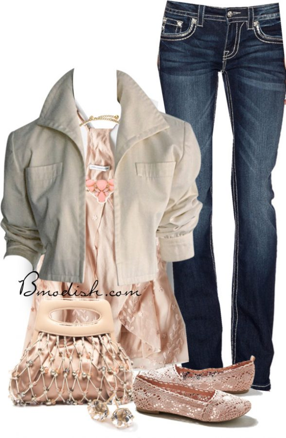 Spring neutral cute spring outfit bmodish