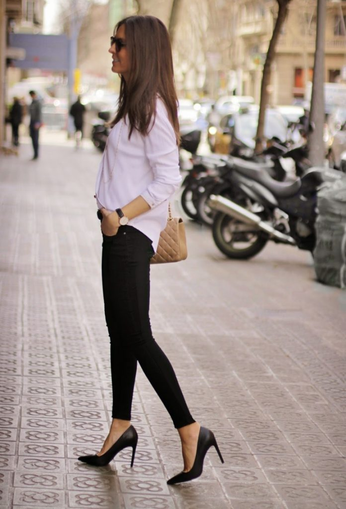 black white outfit keep it simple bmodish