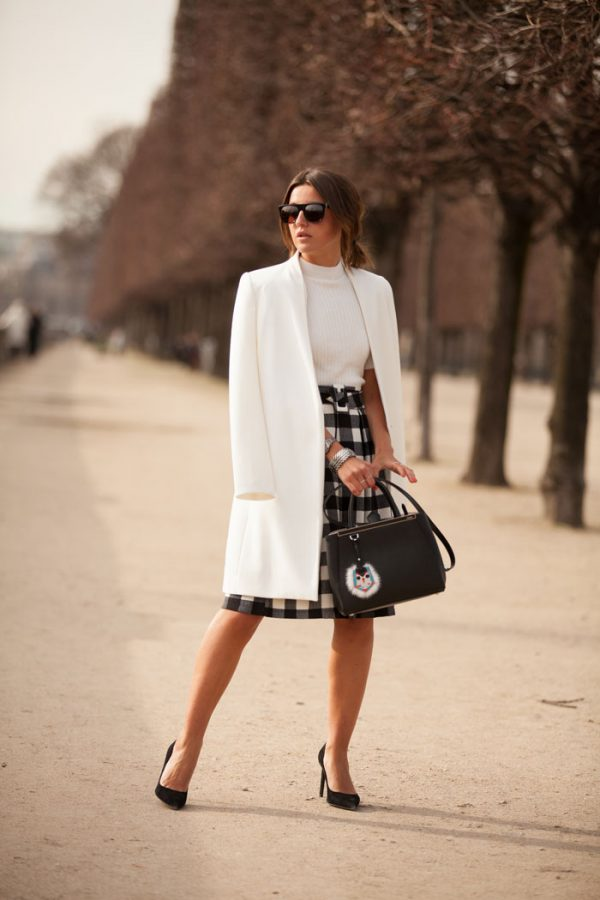 early spring Black-White-Outfit bmodish