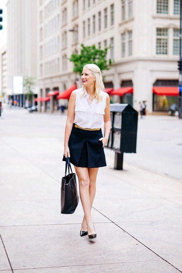 jcrew pleat front mini skirt bmodish