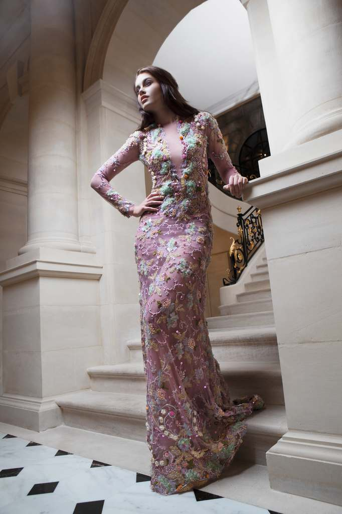 Go bold and sexy with robert abi nader haute couture 2015 for American haute couture designers