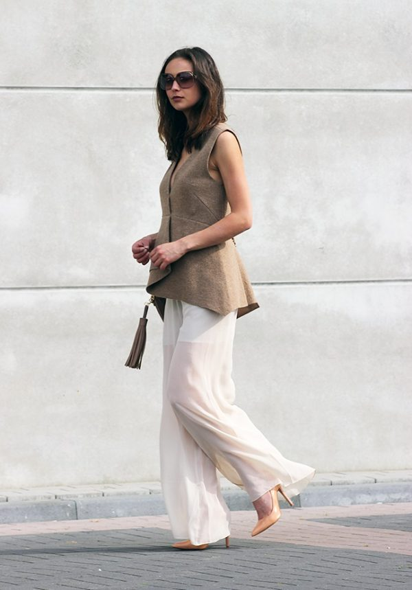 sheer wide leg pants bmodish