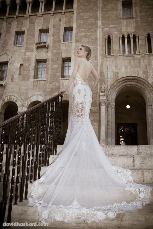 wedding gown David Hasbani 12 bmodish