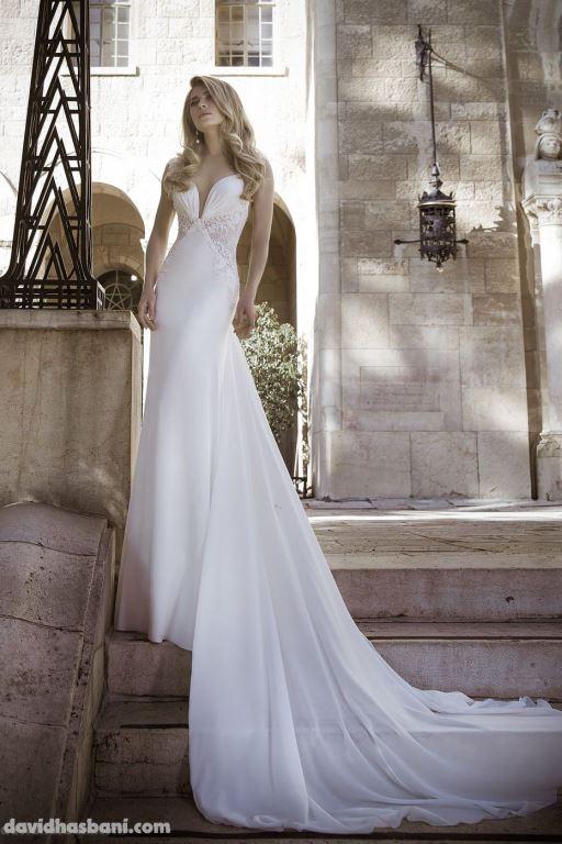 wedding gown David Hasbani 14 bmodish
