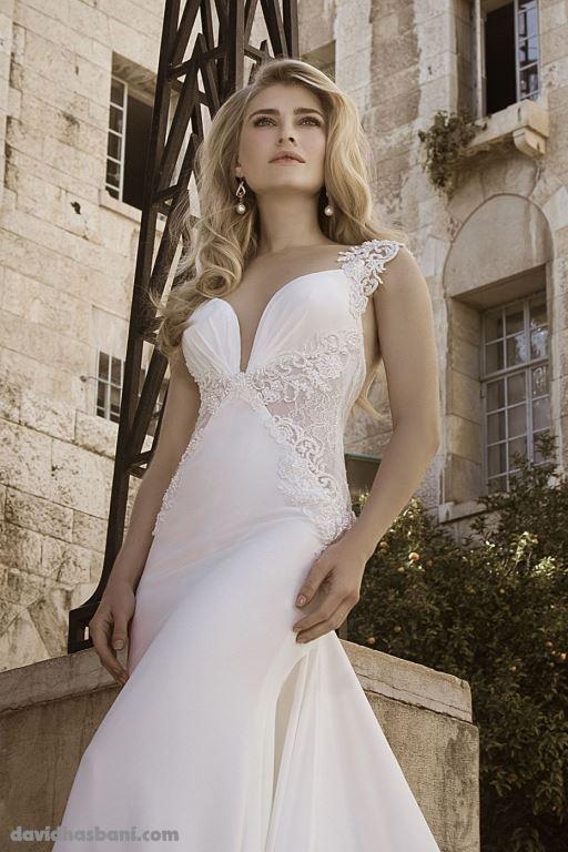 wedding gown David Hasbani 16 bmodish