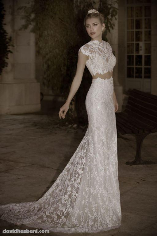 wedding gown David Hasbani 17 bmodish