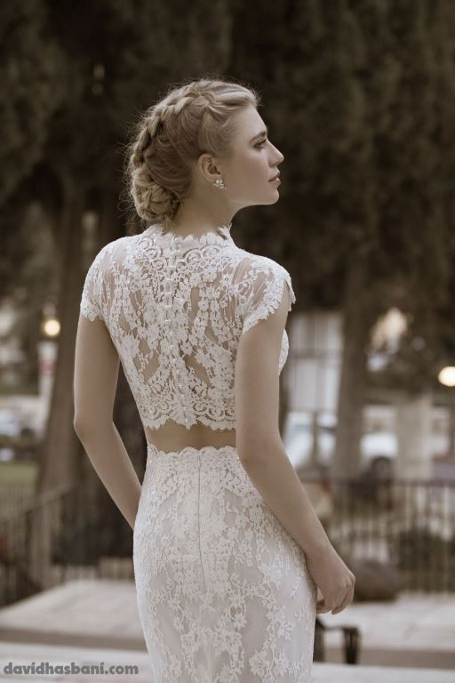 wedding gown David Hasbani 18 bmodish