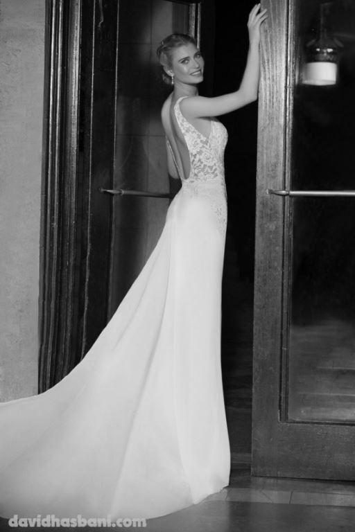 wedding gown David Hasbani 20 bmodish