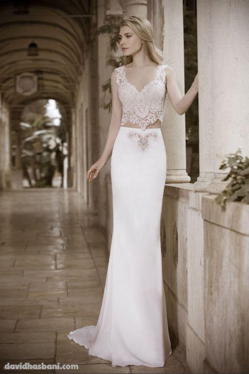 wedding gown David Hasbani 23 bmodish