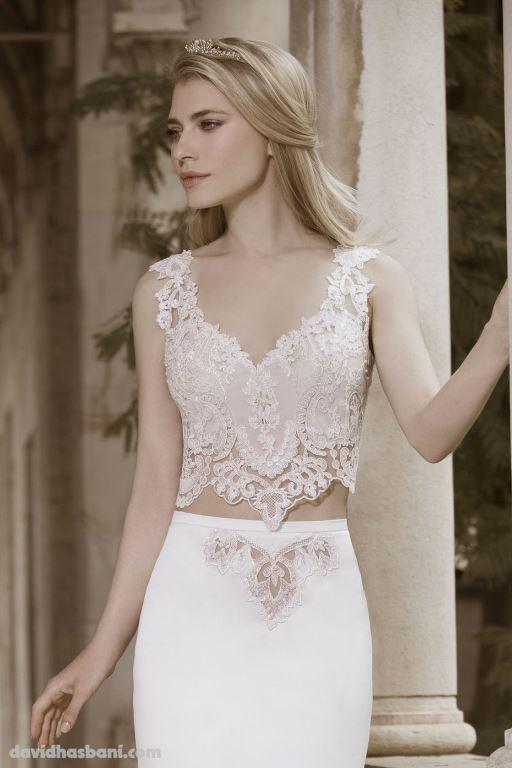 wedding gown David Hasbani 25 bmodish
