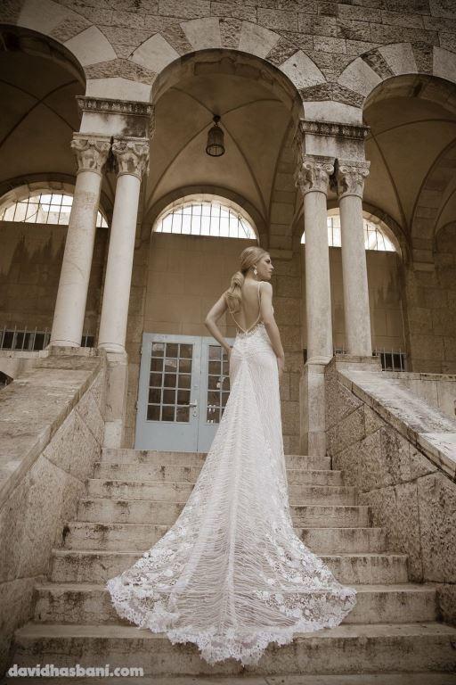 wedding gown David Hasbani 29 bmodish