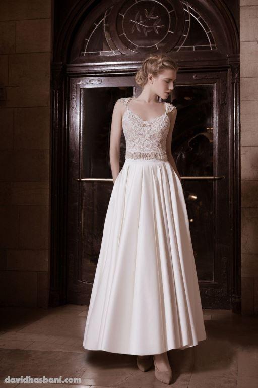 wedding gown David Hasbani 30 bmodish