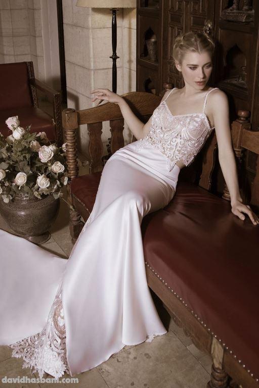 wedding gown David Hasbani 7 bmodish