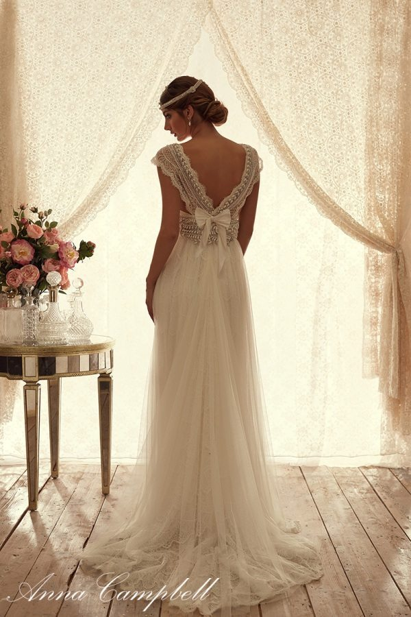 CocoBackSlimLaceandSoftTulle anna campbell wedding dress bmodish