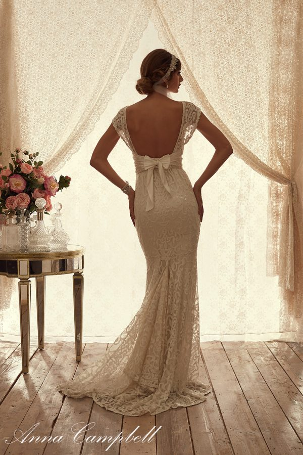 EbonyBack anna campbell wedding gown bmodish