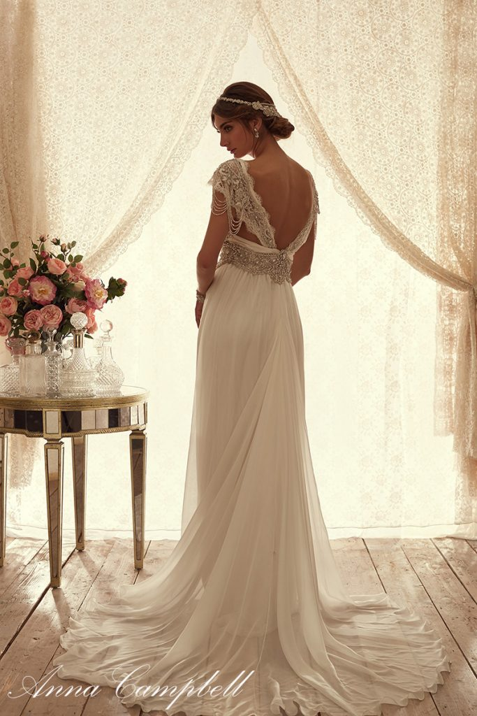 SierraBackSilkChiffon anna campbell wedding dress bmodish