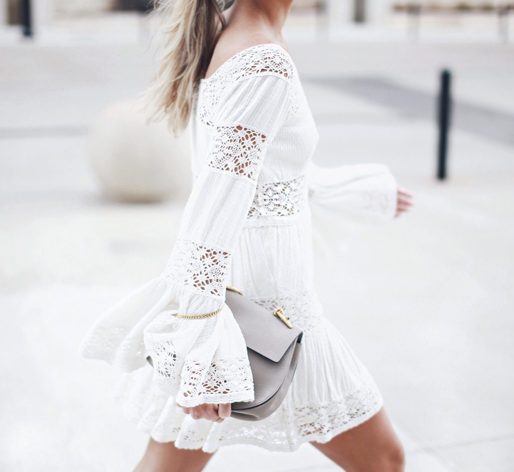 free people white dress bmodish