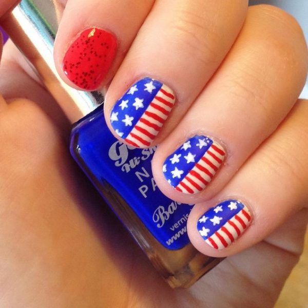 happy 4th of july nails 2 bmodish