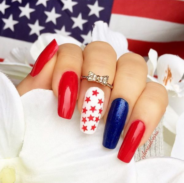 happy 4th of july nails 3 bmodish