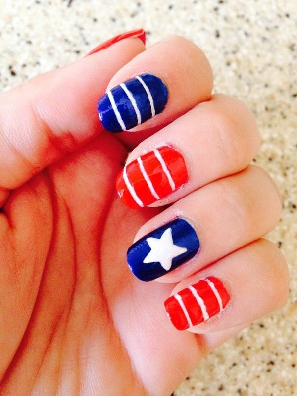 happy 4th of july nails 5 bmodish