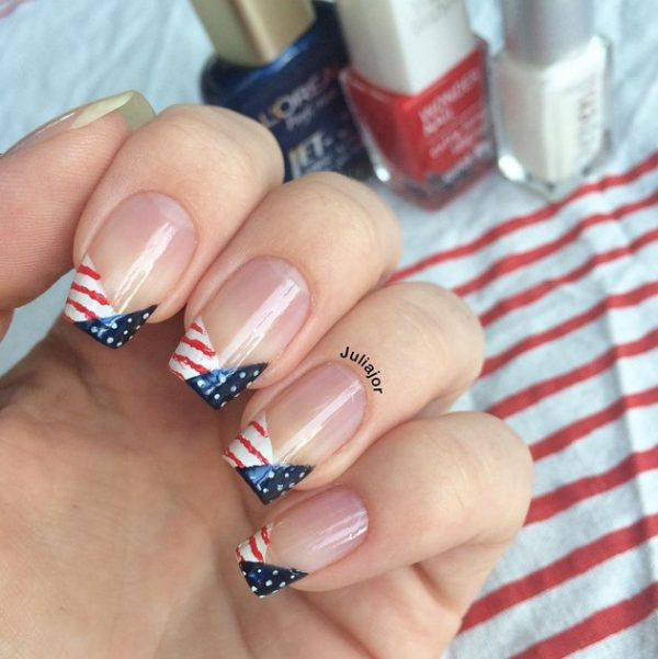happy 4th of july nails 6 bmodish