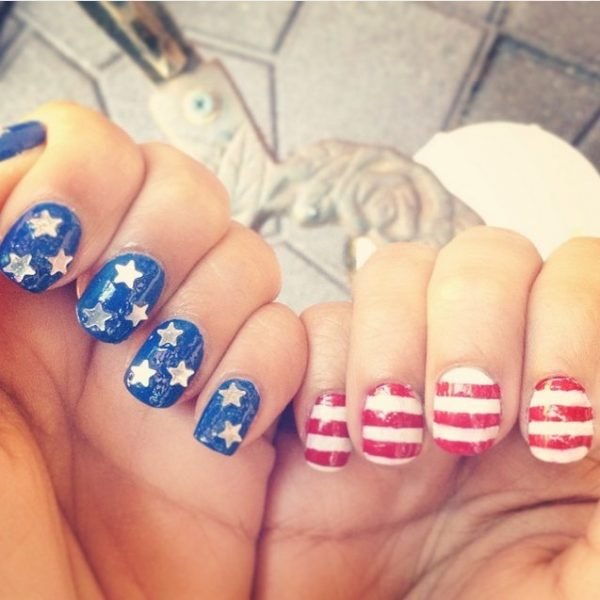happy 4th of july nails 7 bmodish