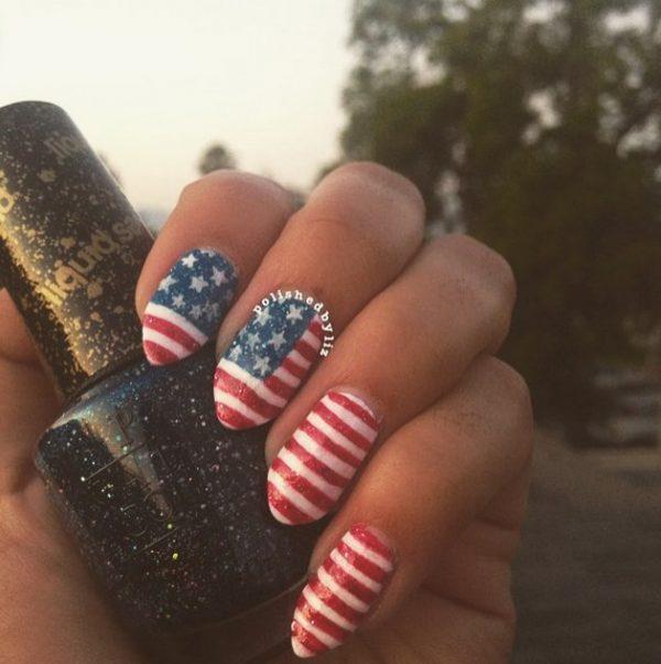 happy 4th of july nails 8 bmodish