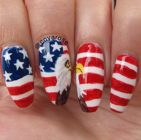 happy 4th of july nails 9 bmodish